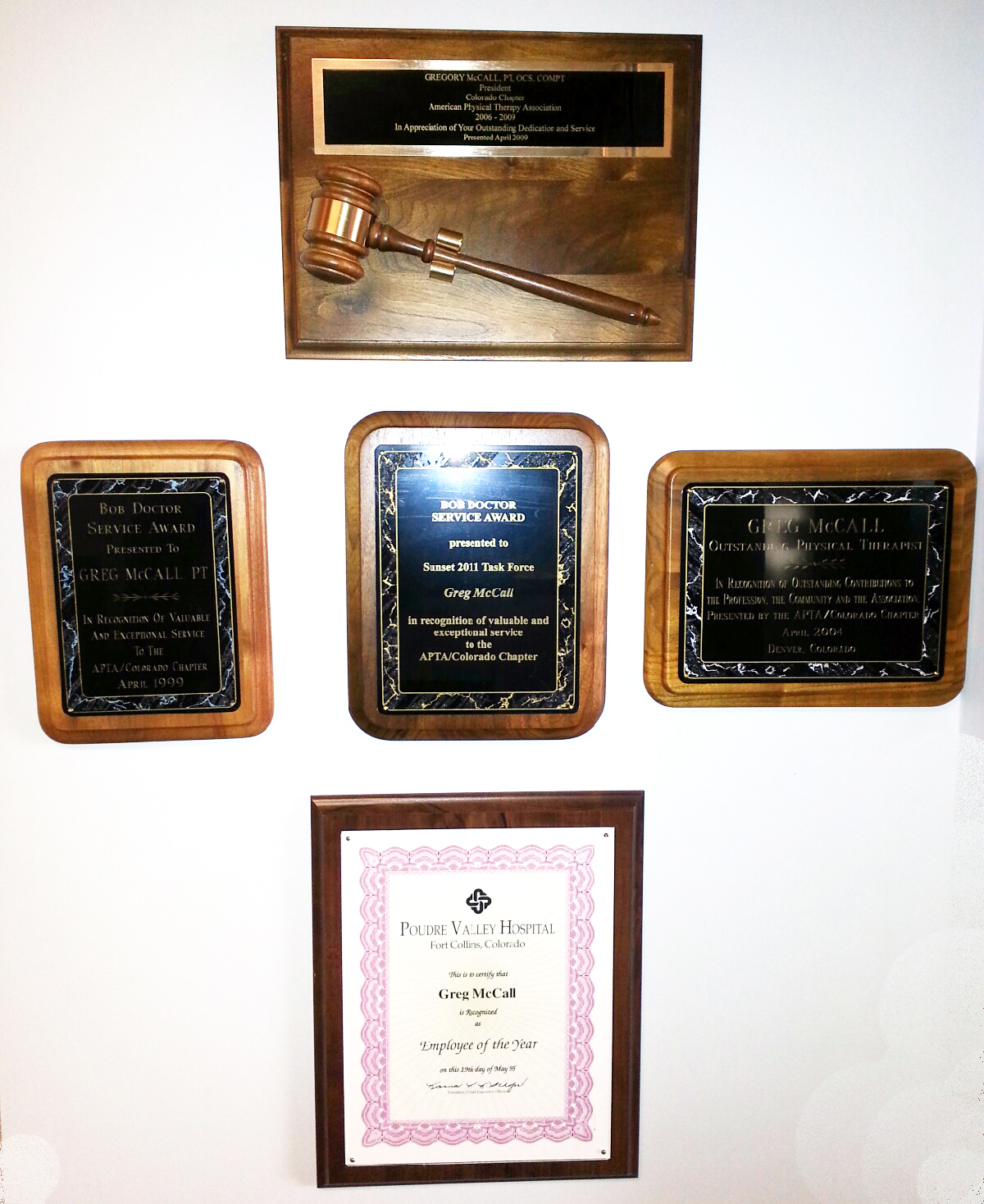 All Pro Physical Therapy Awards